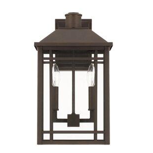 Alcott Hill Chad 2-Light Outdoor Wall Lantern
