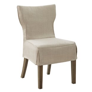 Thayer Upholstered Dining Chair (Set of 2) Canora Grey