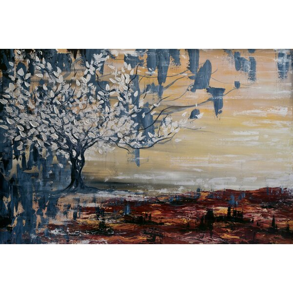 Marmont Hill Paradise Lost Painting Print On Wrapped Canvas Wayfair