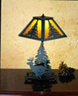 Lone Deer 14 Table Lamp