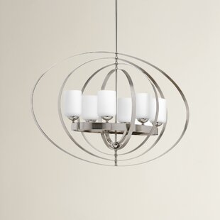 Brayden Studio Morganti 6-Light Globe Chandelier