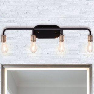 Williston Forge Palermo 4-Light Vanity Light