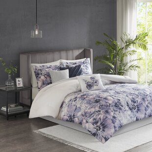 House of Hampton Teegan Printed Cotton 7 Piece Comforter Set