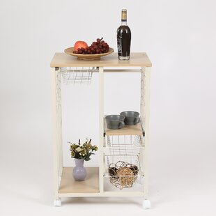 Colston Rolling Island Kitchen Cart by Winston Porter