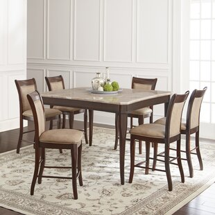 Swenson 7 Piece Counter Height Dining Set