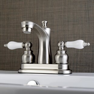 Victorian Centerset Lavatory Faucet with Drain Assembly