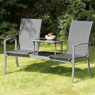Isanti 2 Seater Metal Love Seat By Sol 72 Outdoor