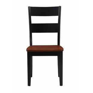 Emmalynn Modern Solid Wood Dining Chair (Set of 2)