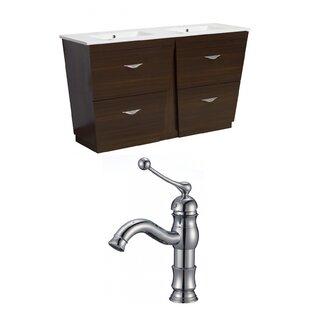 Dudelange 59 Double Bathroom Vanity Set by Royal Purple Bath Kitchen