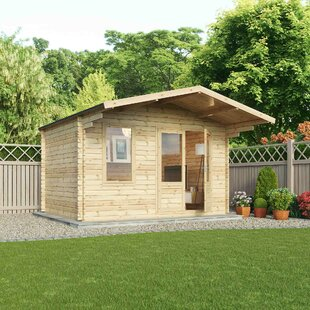 Northrup 12 X 9 Ft. Tongue & Groove Log Cabin Image