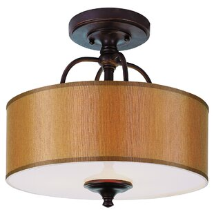 Stark Semi Flush Mount by Breakwater Bay