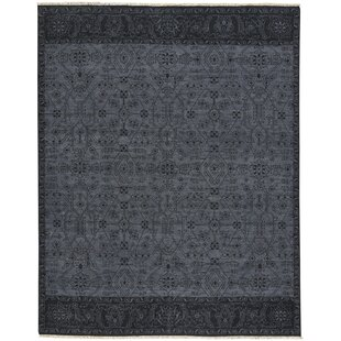 Find the perfect Biltmore Barrier Hand-Knotted Dark Ash Ebony Area Rug ByCapel Rugs