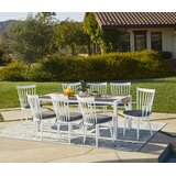 Chenery 9 Piece Indoor/Outdoor Dining Set with Cushions