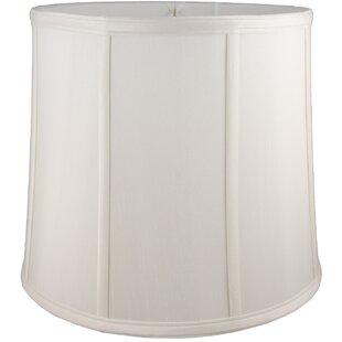 17 Faux Silk Drum Lamp Shade