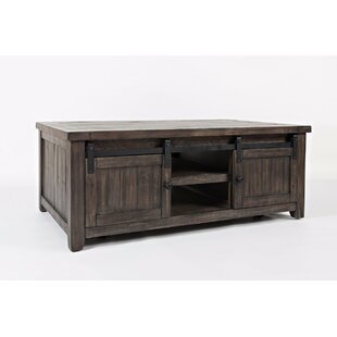 Gracie Oaks Westhoff Coffee Table with Storage