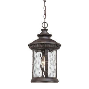 Compare prices Baxter 1-Light Outdoor Hanging Lantern By Astoria Grand