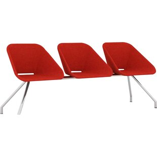 Red Tandem Seating by B&T Desi..