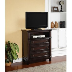 Espresso Bedroom Media Chests You\'ll Love | Wayfair