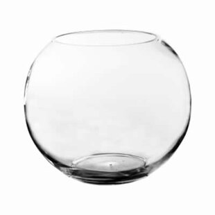 Glass Bubble Bowl Vase (Set of 2)