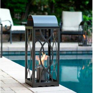 Terra Flame Augusta Metal Lantern