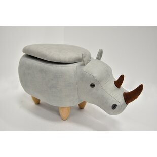 Check Prices Hoefer Rhino Animal Storage Ottoman By Zoomie Kids