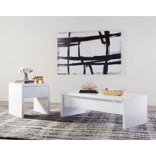 Orren Ellis Stilwell 2 Piece Coffee Table Set