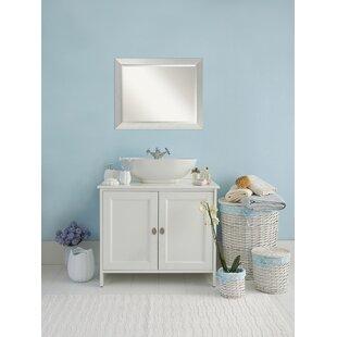 Latitude Run Fouts Sterling Bathroom/Vanity Mirror