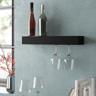 Banda 6 Bottle Wall Mounted Wine Rack