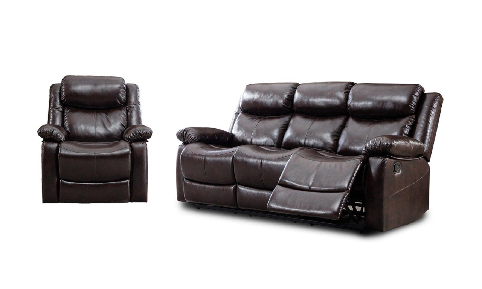 Winston Porter Grovehill 2 Piece Reclining Living Room Set Wayfair