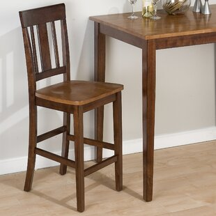 Panorama Triple Upright 24 Bar Stool (Set of 2) Loon Peak