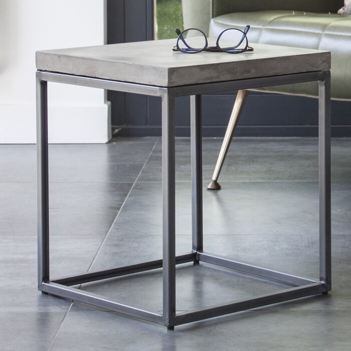 Perspective End Table