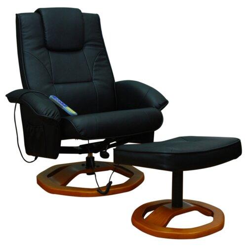 Massagesessel Home Etc Polsterfarbe: Schwarz | Wohnzimmer > Sessel > Massagesessel | Home Etc