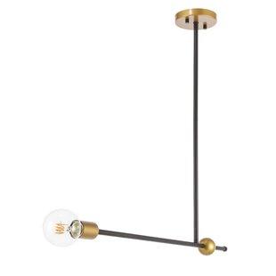 George Oliver Fredricks 1-Light Bulb Pend..