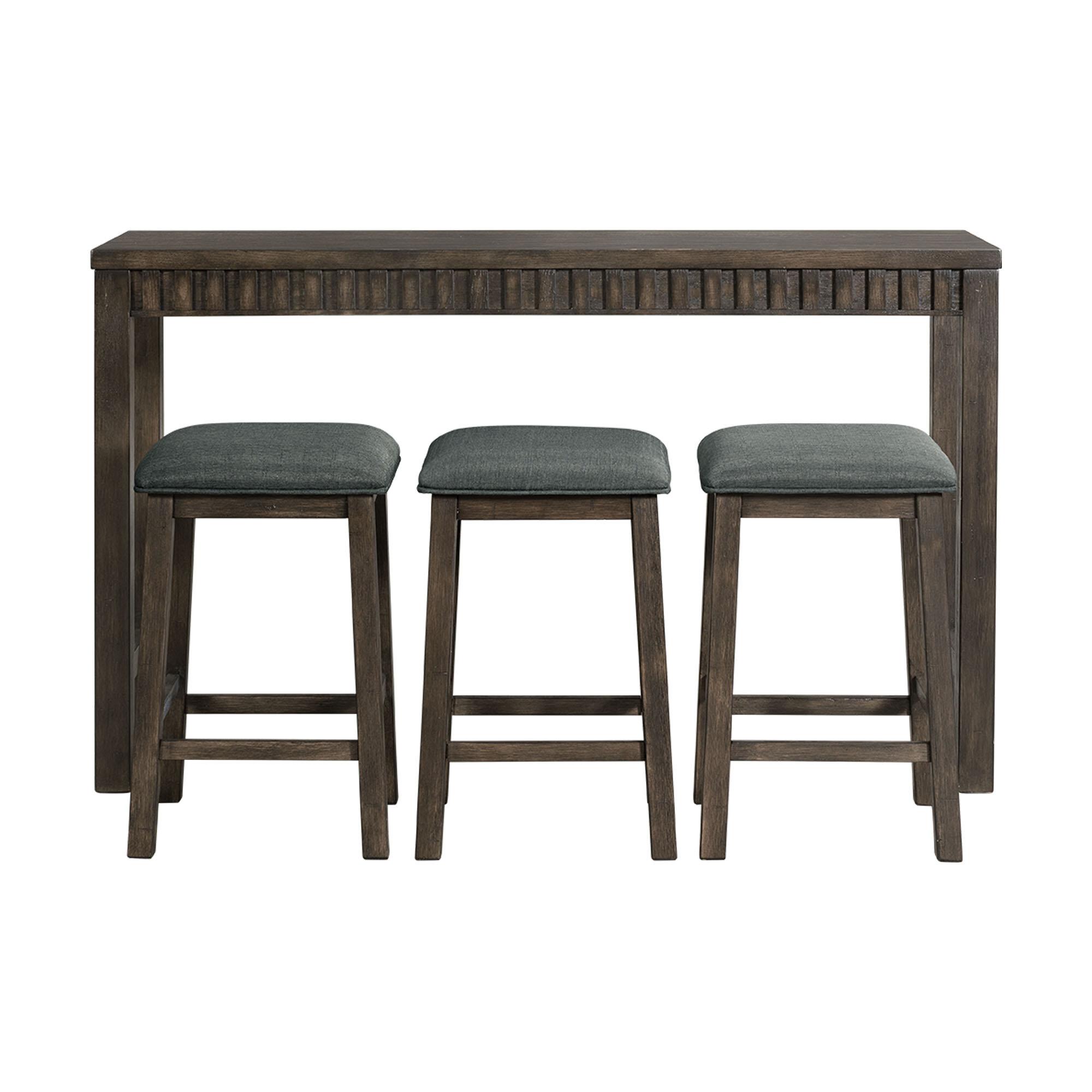 Excellent Gracie Oaks Panola 4 Piece Pub Table Set Reviews Wayfair Ca Download Free Architecture Designs Xoliawazosbritishbridgeorg