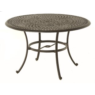 Merlyn Round Aluminum Dining Table