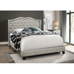 Omari Upholstered Panel Bed by Charlton Home