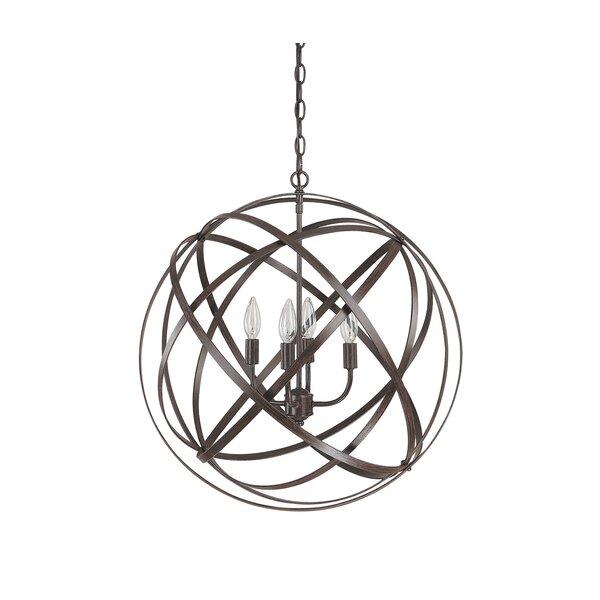 Kierra 4 Light Globe Pendant Reviews