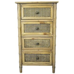 Encanto 4 Drawer Accent Chest by Bay Isle Home