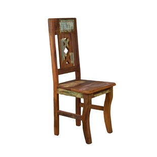 Goulart Solid Wood Dining Chair Bloomsbury Market