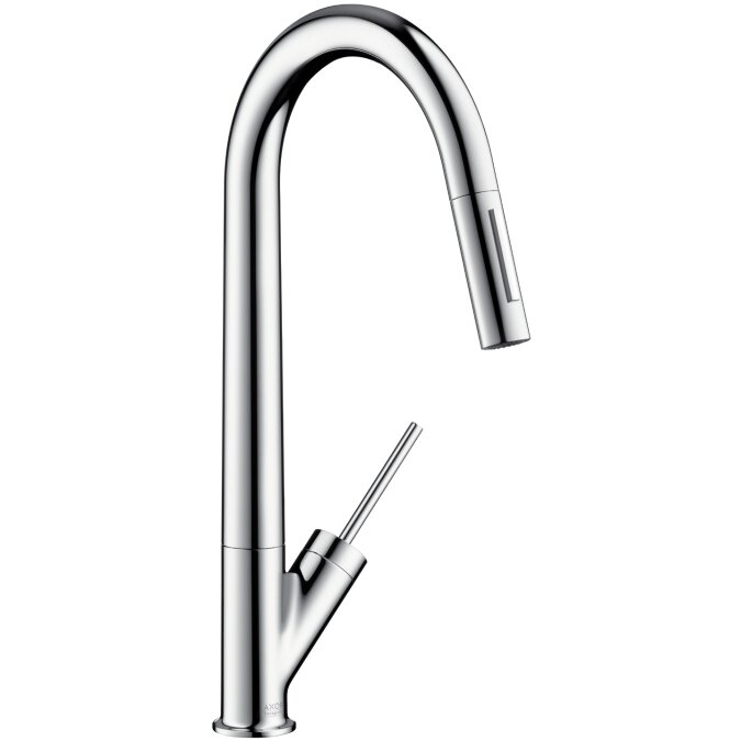 Merveilleux Axor Starck Pull Down Single Handle Kitchen Faucet