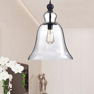 Winston Porter Montreux 1-Light Bell Pendant