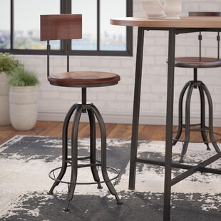 Trent Austin Design Nevada Adjustable Height Swivel Bar Stool