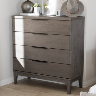 Union Rustic Tion 4 Drawer Chest