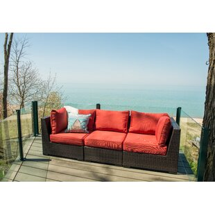 Darden Patio Sofa with Cushions