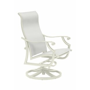 Montreux II Tropitone Swivel Patio Dining Chair