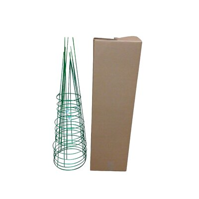 Plant Support Glamos Wire Size: 54 H x 16 W x 16 D, Color: Emerald Green
