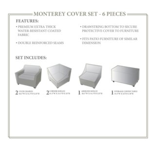 TK Classics Monterey Winter 6 Piece Cover..