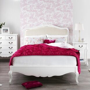 Lemaire Upholstered Bed Frame By Fleur De Lis Living