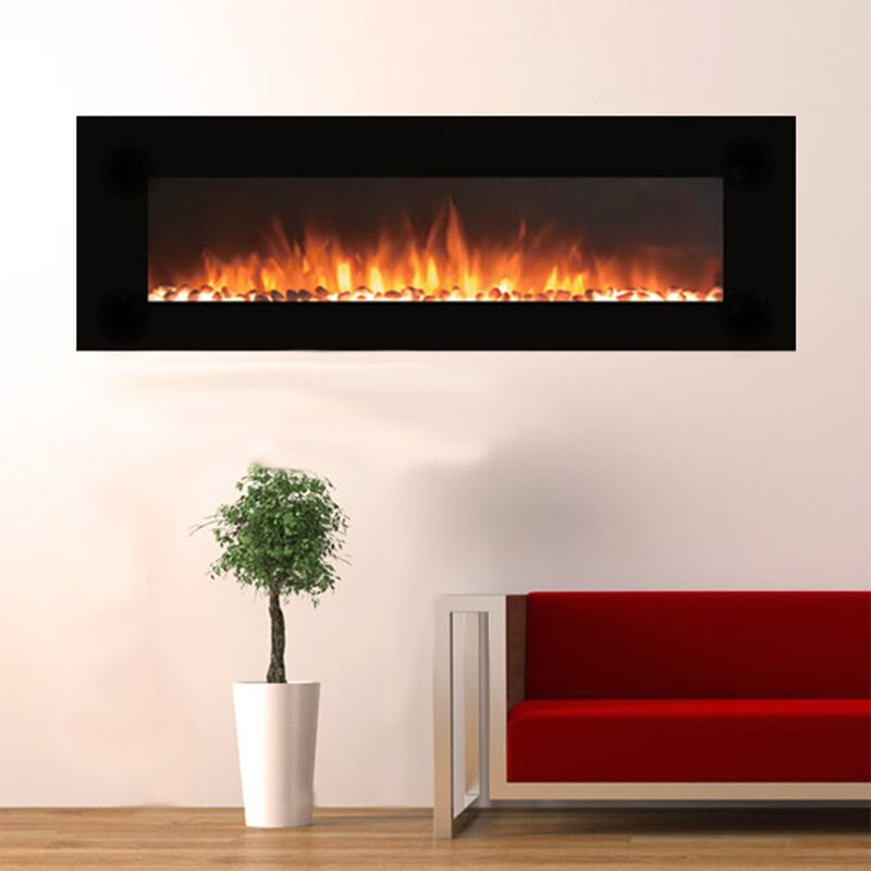 Touchstone OnyxXL Wall Mounted Electric Fireplace & Reviews | Wayfair