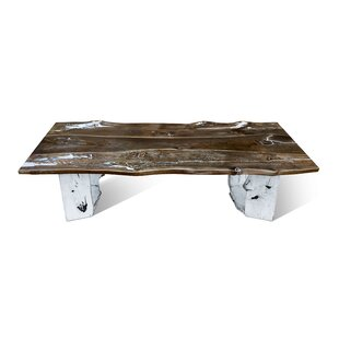 Alisha Solid Wood Dining Table by Loon Peak